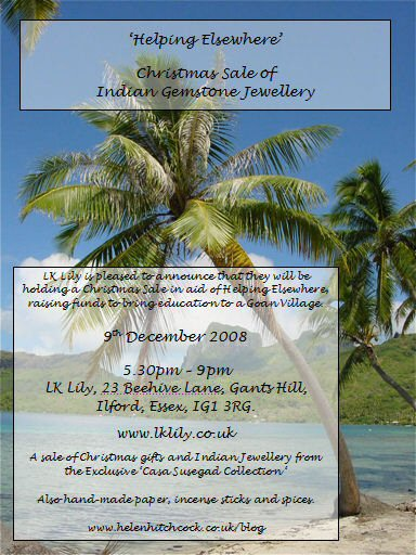 Invitation to Lk Lily Jewellery Party