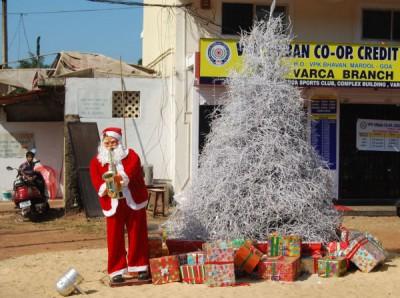 Santa in Goa
