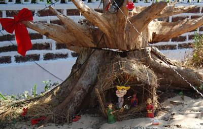 Goan nativity scene