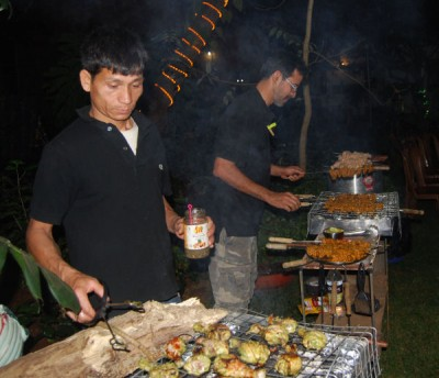 Goan New Year's Eve Barbecue