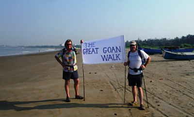 Andy and Henry - Great Goan Walk
