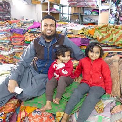 Parvez and his children